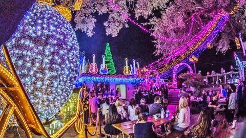 Top 10 Southern Christmas Light Displays You Have To See In Your Lifetime | Country Music Videos