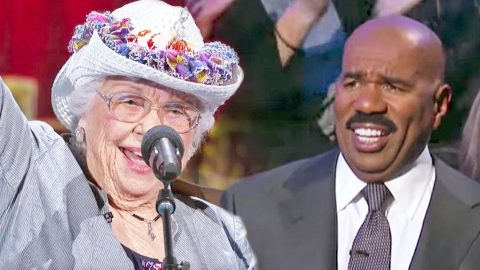 Yodeling Grandma Has Steve Harvey Crackin' Up With Spunky Country Performance | Country Music Videos