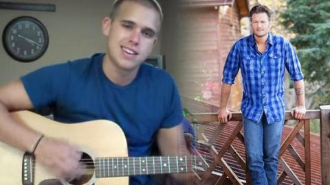 """Zach DuBois Covers Blake Shelton's """"God Gave Me You"""" (WATCH) 