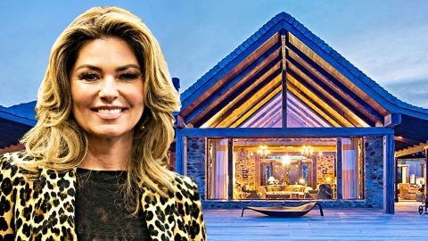 Shania Twain's Mountain Farmhouse Is Everyone's Dream Home | Country Music Videos