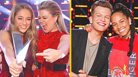 Kelly Clarkson Reveals How Alicia Keys Reacted After She Lost 'The Voice' | Country Music Videos