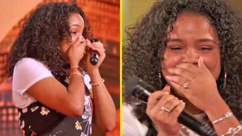 Bullied Teen Sings Aretha Franklin Hit On 'AGT' – Bursts Into Tears Over Judges' Reactions | Country Music Videos