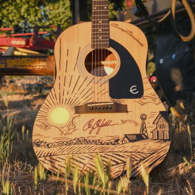 Craig Campbell 'Outskits Of Heaven' Signed Guitar Giveaway