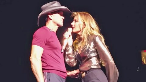 Tim McGraw & Faith Hill Get Hot And Heavy On Stage | Country Music Videos