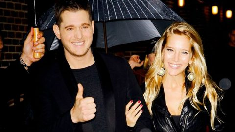Overjoyed Michael Bublé Finally Shares Newborn Daughter's Name   Country Music Videos