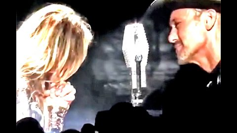 Tim & Faith End World Tour In Tears | Country Music Videos