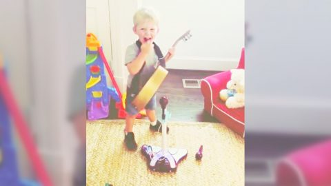 Country Singer's Son Adorably Sings His Hit Song & It's So Precious | Country Music Videos