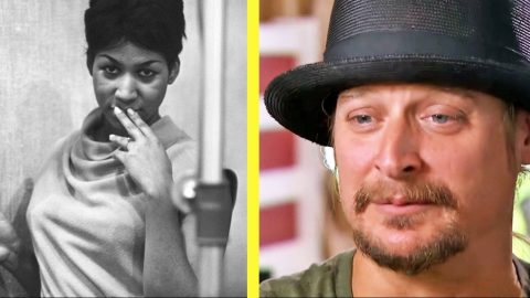 Kid Rock Says Goodbye To Aretha Franklin With Precious Memory | Country Music Videos
