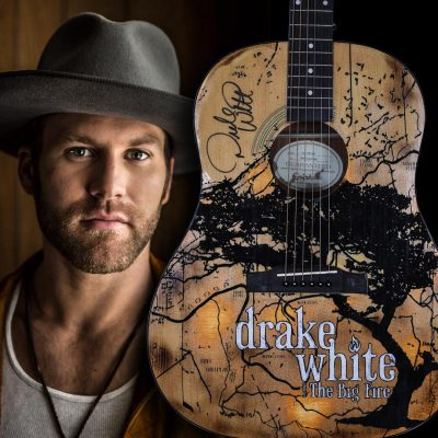 Drake White the big fire guitar