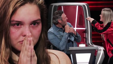 Tear-Filled Audition Leaves Kelly Battling Blake For Talented Country Singer | Country Music Videos