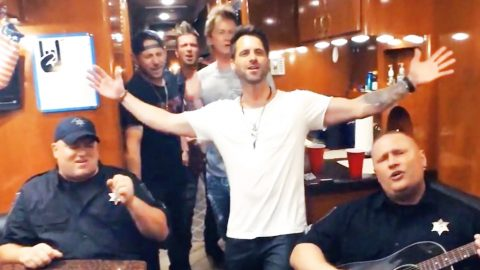 Country Stars Team Up With Police For Wild Lip Sync Battle | Country Music Videos