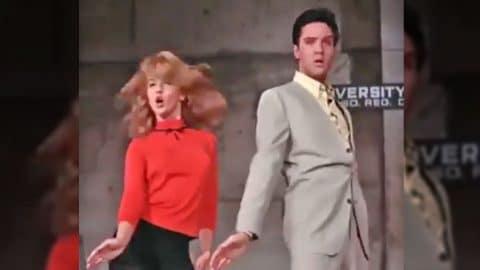 Elvis and Ann-Margret Dance