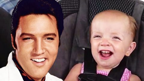 Girl Sings Elvis' 'An American Trilogy' In Car With Her Dad | Country Music Videos