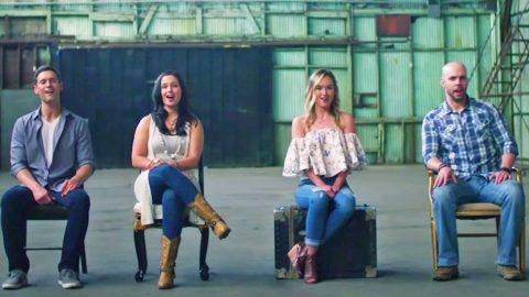 Chris Rupp, Founding Member Of Home Free, Joins Sister & Friends For 'Can't Help Falling In Love'   Country Music Videos