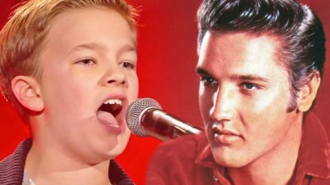 Boy Earns Spot On 'The Voice' With 'Can't Help Falling In Love' Audition | Country Music Videos