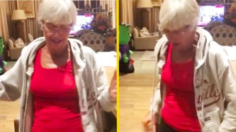 Luke Bryan's Mama Has Birthday Dance Interrupted By Rude Party Guest | Country Music Videos