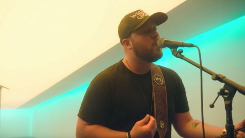"Brokenhearted Drunk Dial Turns Into Regret With Mitchell Tenpenny's ""Alcohol You Later"" 