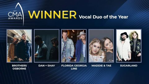 2018 CMA Award For Vocal Duo Of The Year Announced | Country Music Videos