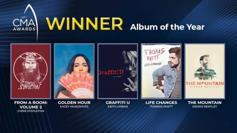 2018 CMA Award For Album Of The Year Announced | Country Music Videos