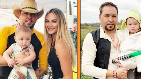 Brittany Aldean Is 100% Unrecognizable In Family's Halloween Photo | Country Music Videos