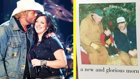 """Toby Keith's Daughter, Krystal, Dusts Off Old Family Photos In """"O Holy Night"""" Video 