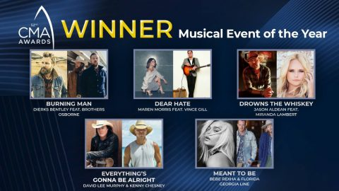 CMA Makes Early Awards Announcement With Musical Event Of The Year Winners | Country Music Videos