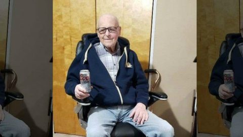102-Year Old WWII Veteran Credits Long Life To Daily Can Of Beer | Country Music Videos