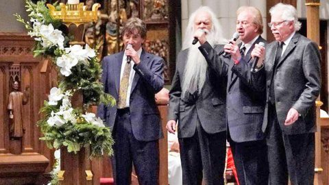 Oak Ridge Boys Deliver Powerful Tribute At Bush Funeral | Country Music Videos