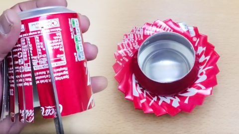 Make A Beer Can Ashtray Using Only Scissors (And A Beer Can) | Country Music Videos