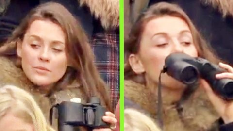 Racing Fan Caught With Hidden Flask Becomes Internet Sensation | Country Music Videos