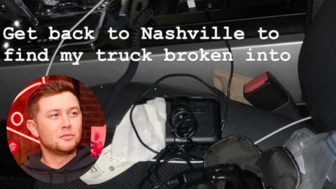 Scotty McCreery's Truck Gets Broken Into | Country Music Videos