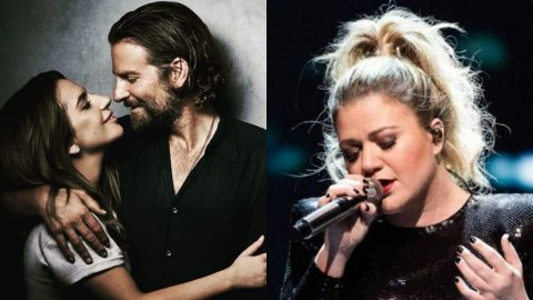 """Kelly Clarkson Covers Oscar-Winning Song """"Shallow"""" During Concert 