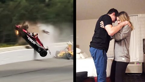 6 Months After Near-Fatal Crash, Indy Driver Determined To Dance At His Wedding | Country Music Videos