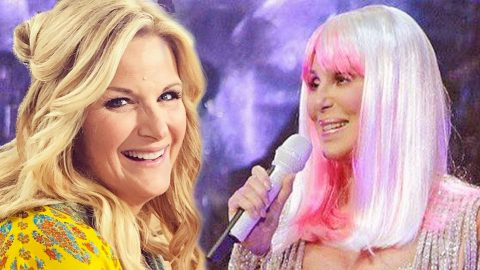 Trisha Yearwood Dresses Up As Cher For Nashville Show | Country Music Videos