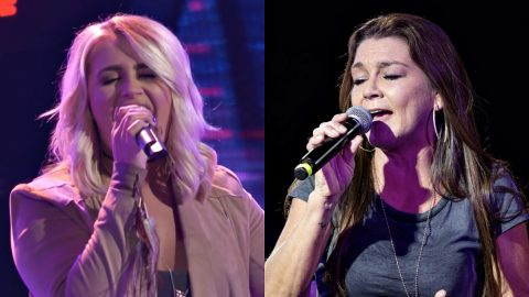 Nashville Bar Singer Turns Chairs With Electrifying Gretchen Wilson Cover On 'The Voice' | Country Music Videos