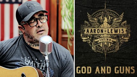 Aaron Lewis' New Song 'God and Guns' Is A Pure-Blooded Anthem For Patriots Everywhere | Country Music Videos