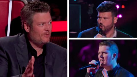"Singer Rod Stokes Stolen From Blake After ""Drunk Me"" Battle On ""Voice"" Season 16 