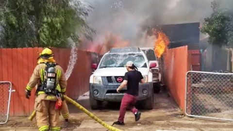Man Runs Into Burning House To Save His Dog, Best Friend | Country Music Videos