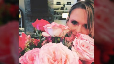 Miranda Lambert Gifted Flowers From 'Hero' Tanya Tucker | Country Music Videos