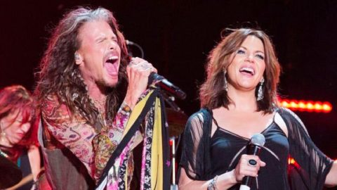Martina McBride & Steven Tyler Deliver Face-Melting Duet To Aerosmith Hit | Country Music Videos