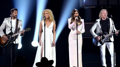 """Choked Up, Little Big Town Debuts Emotional """"The Daughters"""" At ACM Awards 