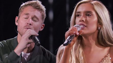 """Laci Kaye Begs For """"Mercy"""" On Her Heart In Duet With Hunky Country Star 