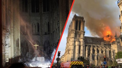 Despite Blazing Fire, Notre-Dame Cross & Altar Emerge Untouched | Country Music Videos