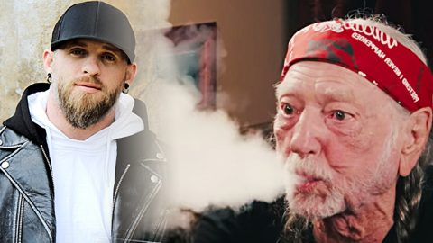 Brantley Gilbert Unveils Ultimate 4/20 Anthem Feat. Willie Nelson | Country Music Videos