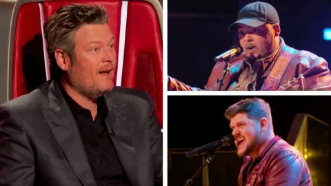 Team Blake Storms Through Sensational Battle Over Luke Combs' 'Hurricane' | Country Music Videos