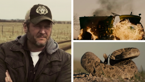 Blake Shelton Showcases His Home State Oklahoma In 'God's Country' Video | Country Music Videos