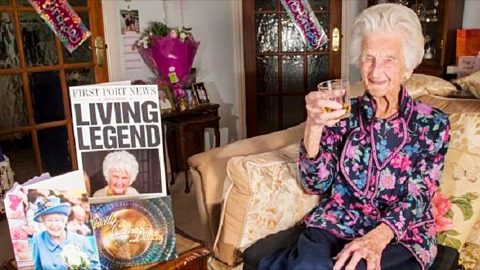 The Secret To A Long Life According To A 112-Year-Old Woman   Country Music Videos