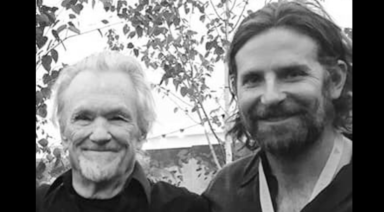 How Kris Kristofferson Helped The New A Star Is Born Movie Film An Important Scene Country Rebel