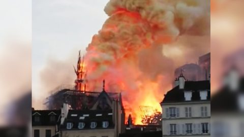 Beloved Notre-Dame Cathedral In Paris Caught In Monstrous Flames | Country Music Videos
