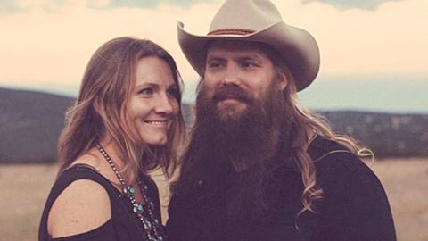 Morgane Stapleton Proves Pregnancy Has Left Her Glowing In New Photo | Country Music Videos